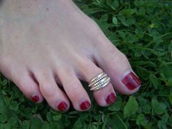 Perfect Fit Toe Rings
