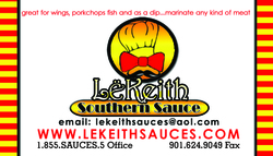 LeKeith Sauces